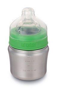 Бутылочка для кормления Kid Kanteen Baby Bottle Brushed Stainless 148 ml