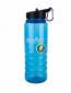 Бутылка Summit Water Bottle Tritan с соломинкой и карабином синяя 700 мл - фото 1