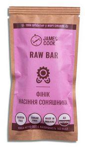 Батончик Raw Bar Финики-Семена Подсолнечника James Cook