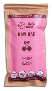 Батончик Raw Bar Вишня-Какао James Cook