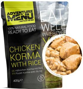 Готовое блюдо Курица Корма с рисом Adventure Menu