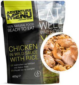Готовое блюдо Курица в остром соусе с рисом Adventure Menu