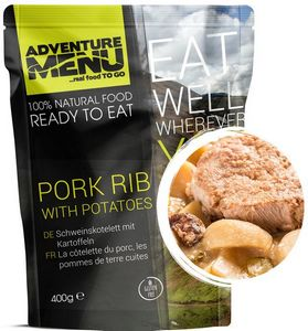 Готовое блюдо Свиные ребрышки с картофелем Adventure Menu
