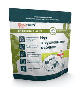 Готовое блюдо Нут с тушеными овощами Fuse Foods