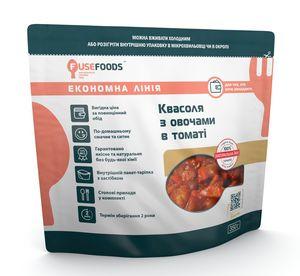 Готовое блюдо Фасоль с овощами в томате Fuse Foods