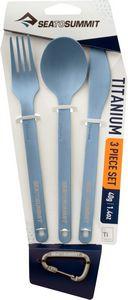 Набор столовых приборов Sea To Summit Titanium Cutlery Set 3